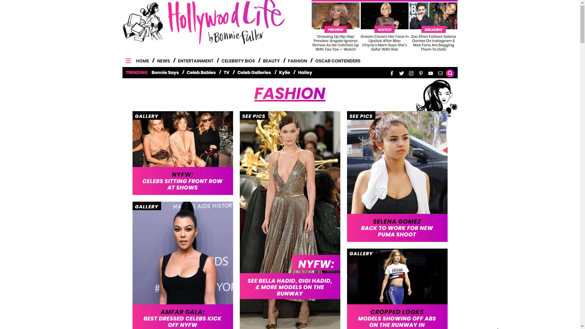 Hollywood Life Fashion
