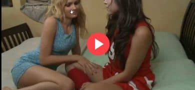 Hot Lesbians Get Licked