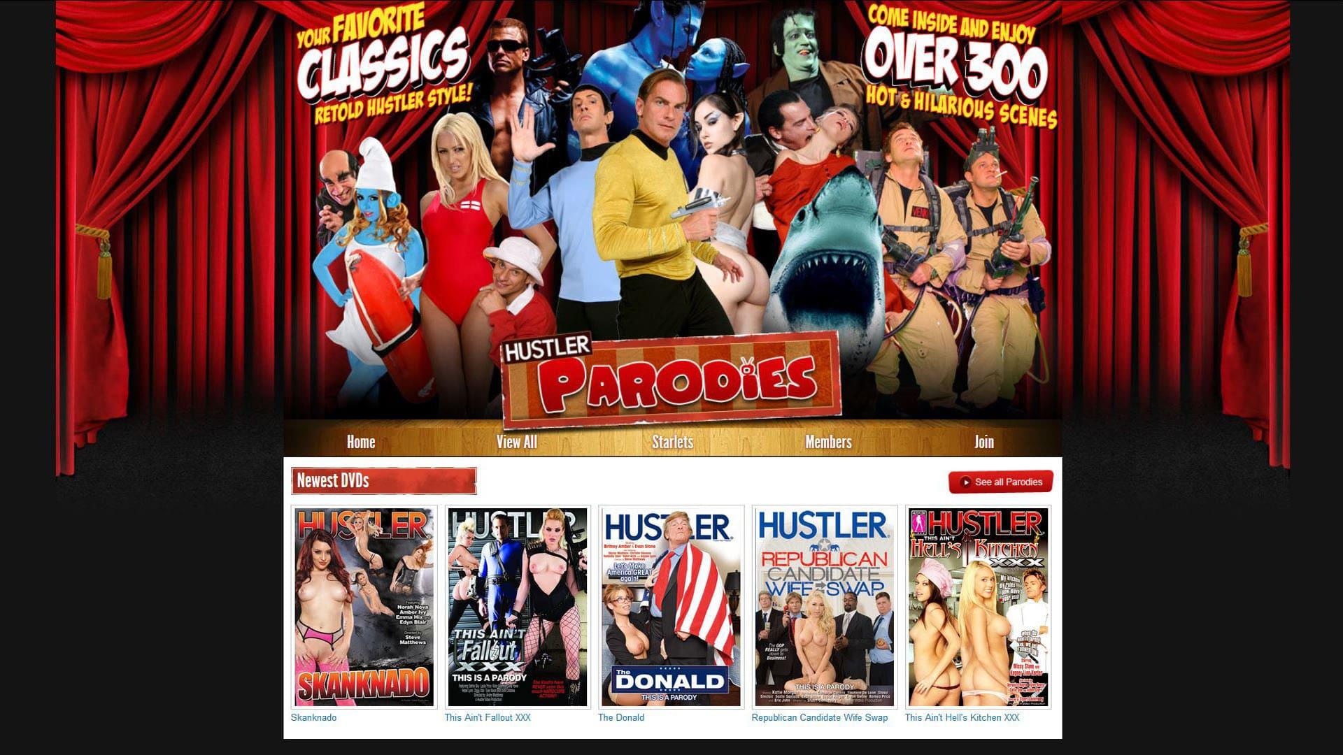 Hustlerparodies Homepage