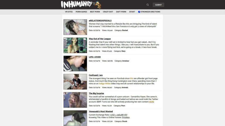 Inhumanity Com