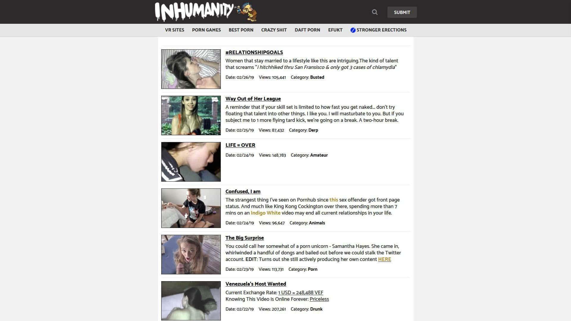 Inhumanity RelationshipGoals