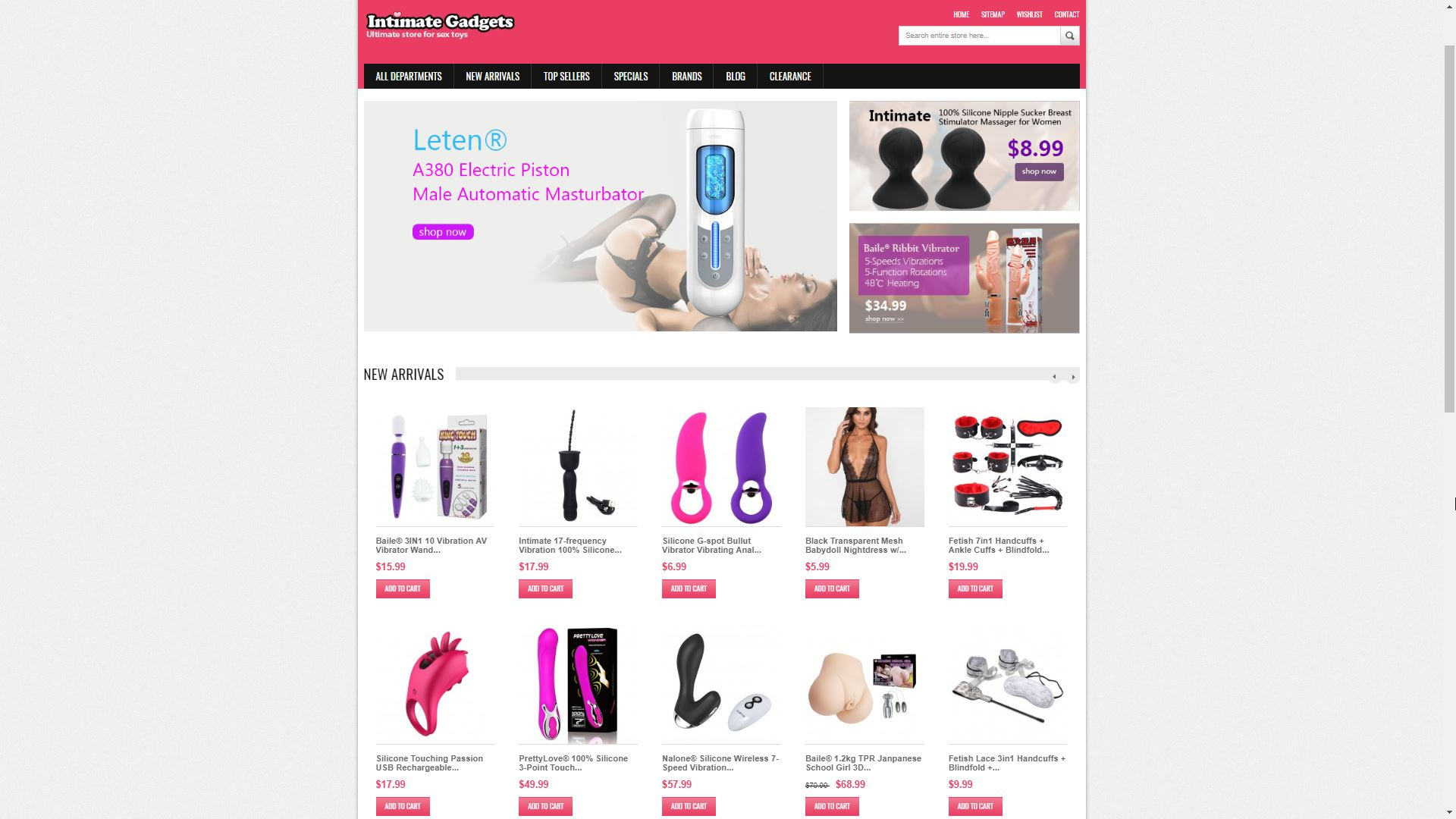 Intimate Gadgets New Arrivals