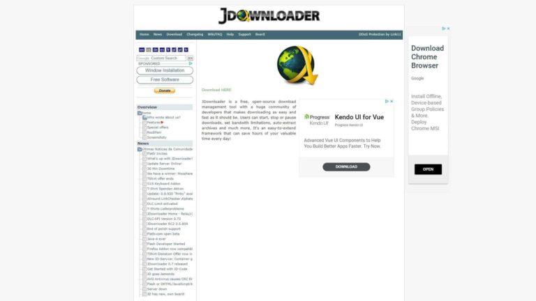 J Downloader Home