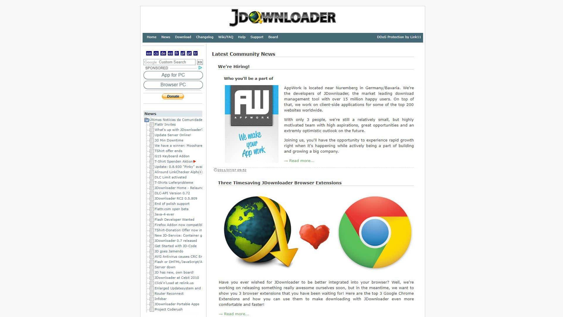 J Downloader News