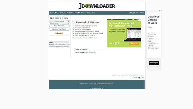 J Downloader Changelog