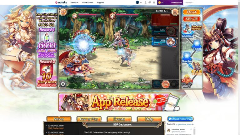 Kamihime Project R Battle