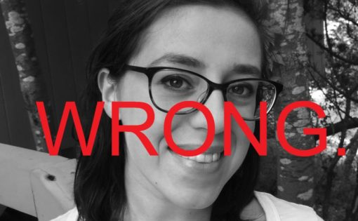 Leah Fessler Wrong