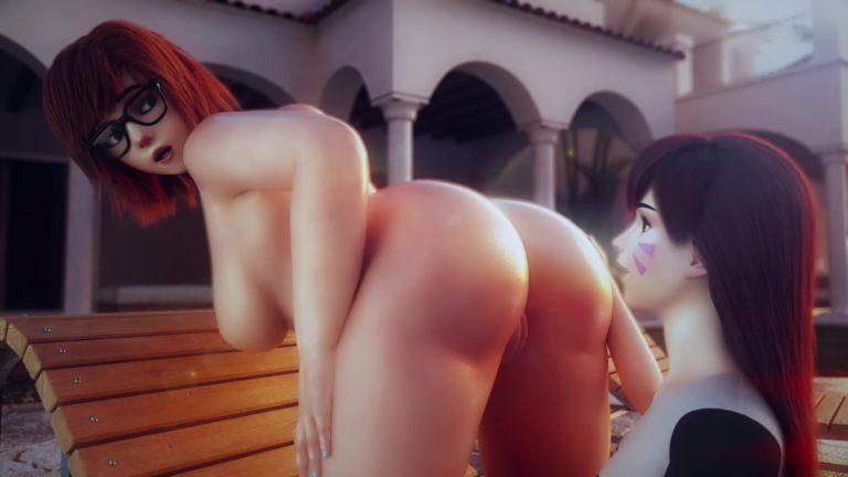 lesbian Ass Sucking