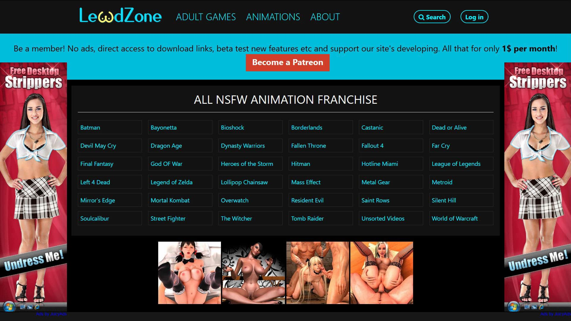 Lewdzone Franchise List