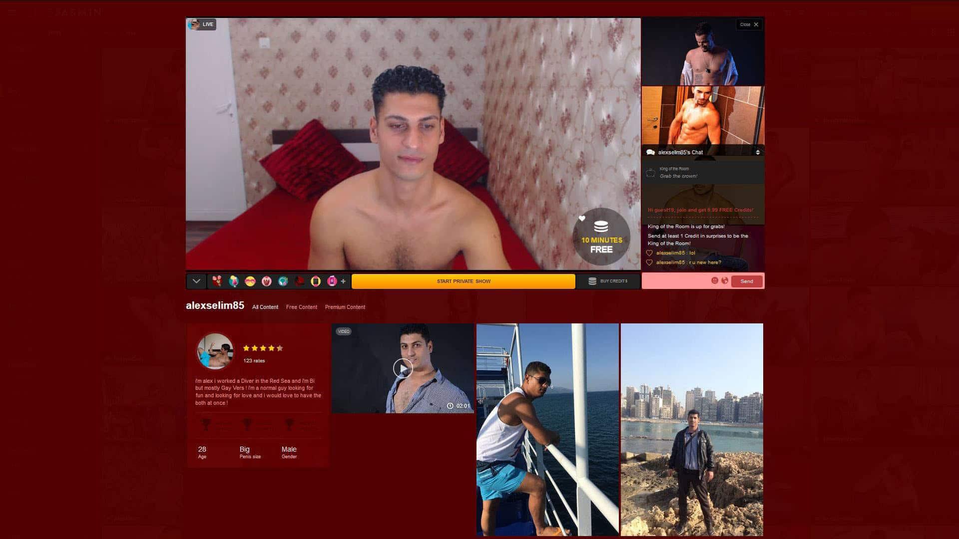 LiveJasminGay Alexselim85