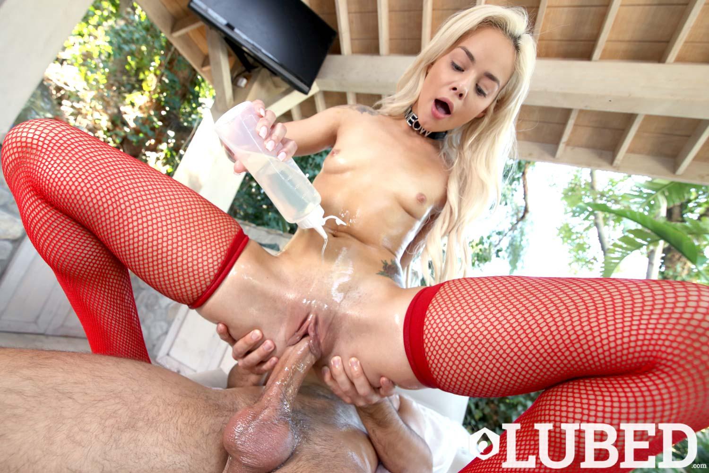Lubed Sexy Oil Fucking Porn Scene
