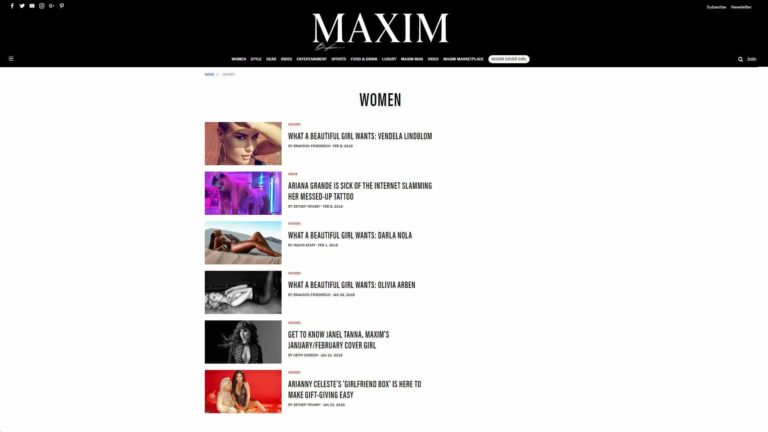 Maxim Women