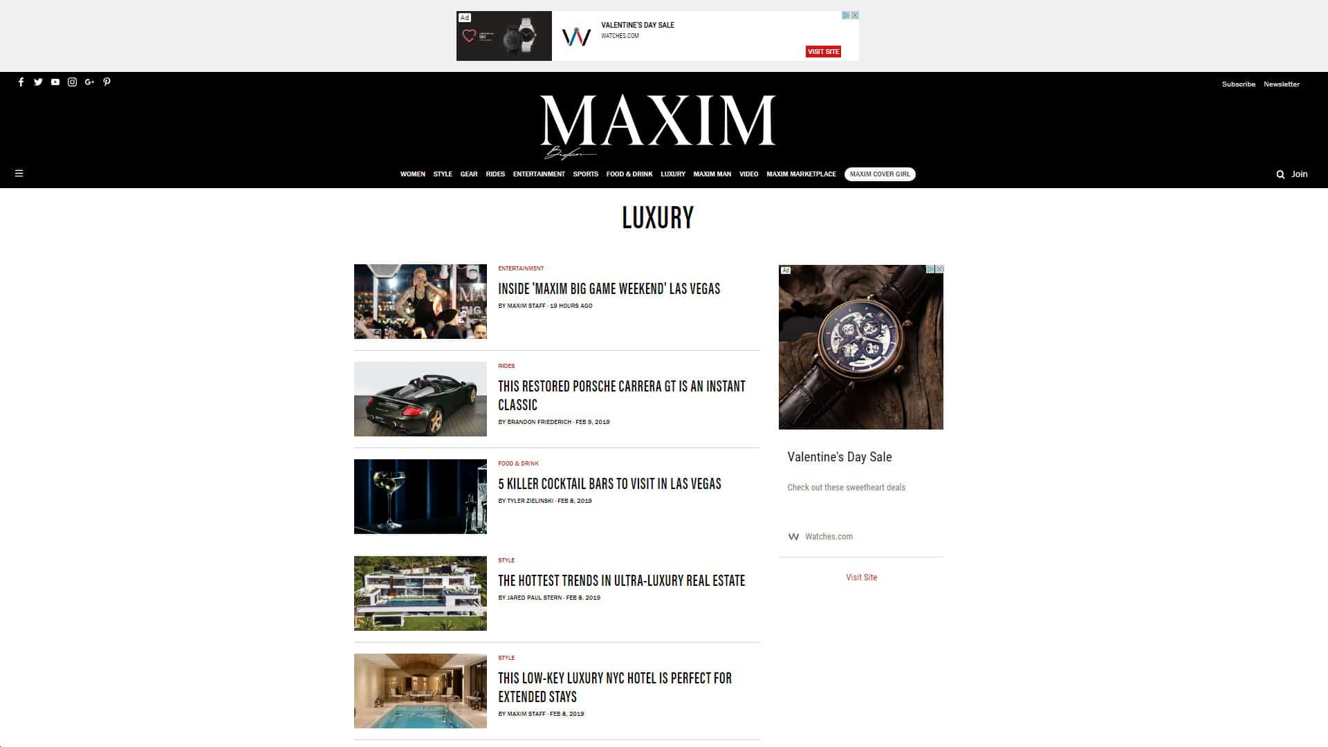 Maxim Luxury