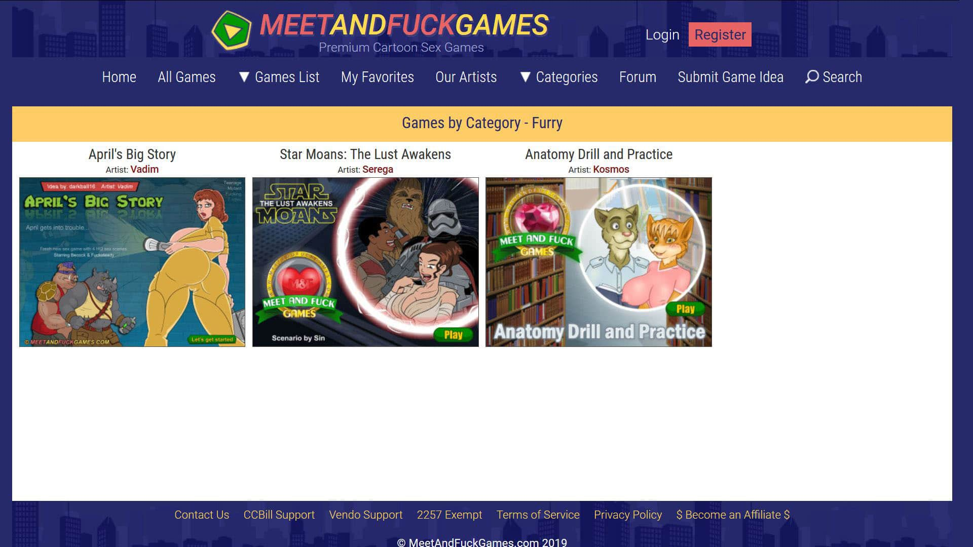 Meet And Fuck Games Category - Furry