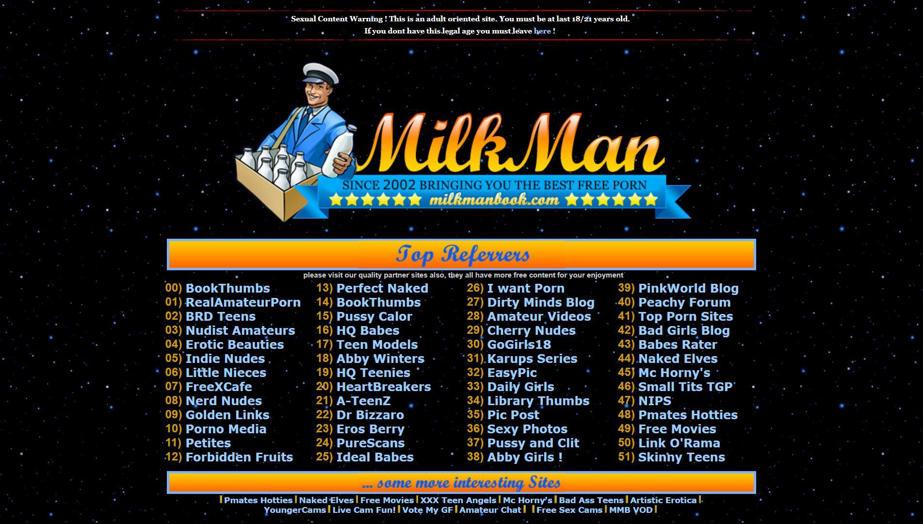Milkman Book Main Page