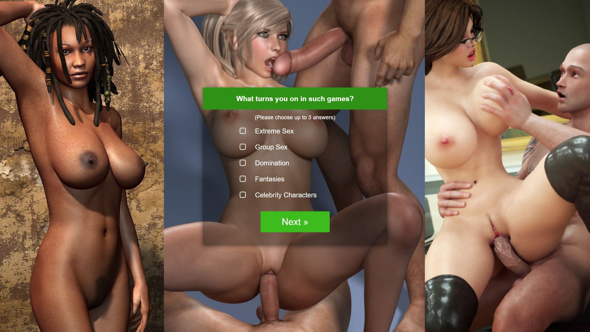 Monster Sex Games Landing Page 5