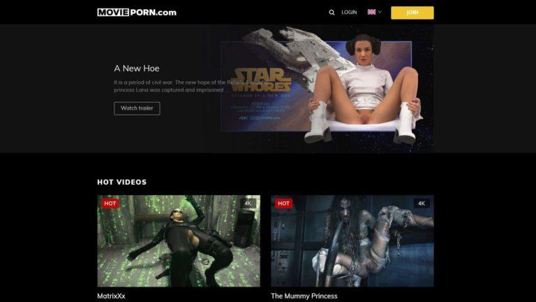 MoviePorn Homepage