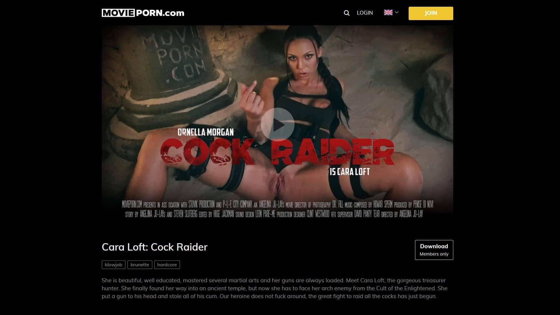 MoviePorn Cock Raider