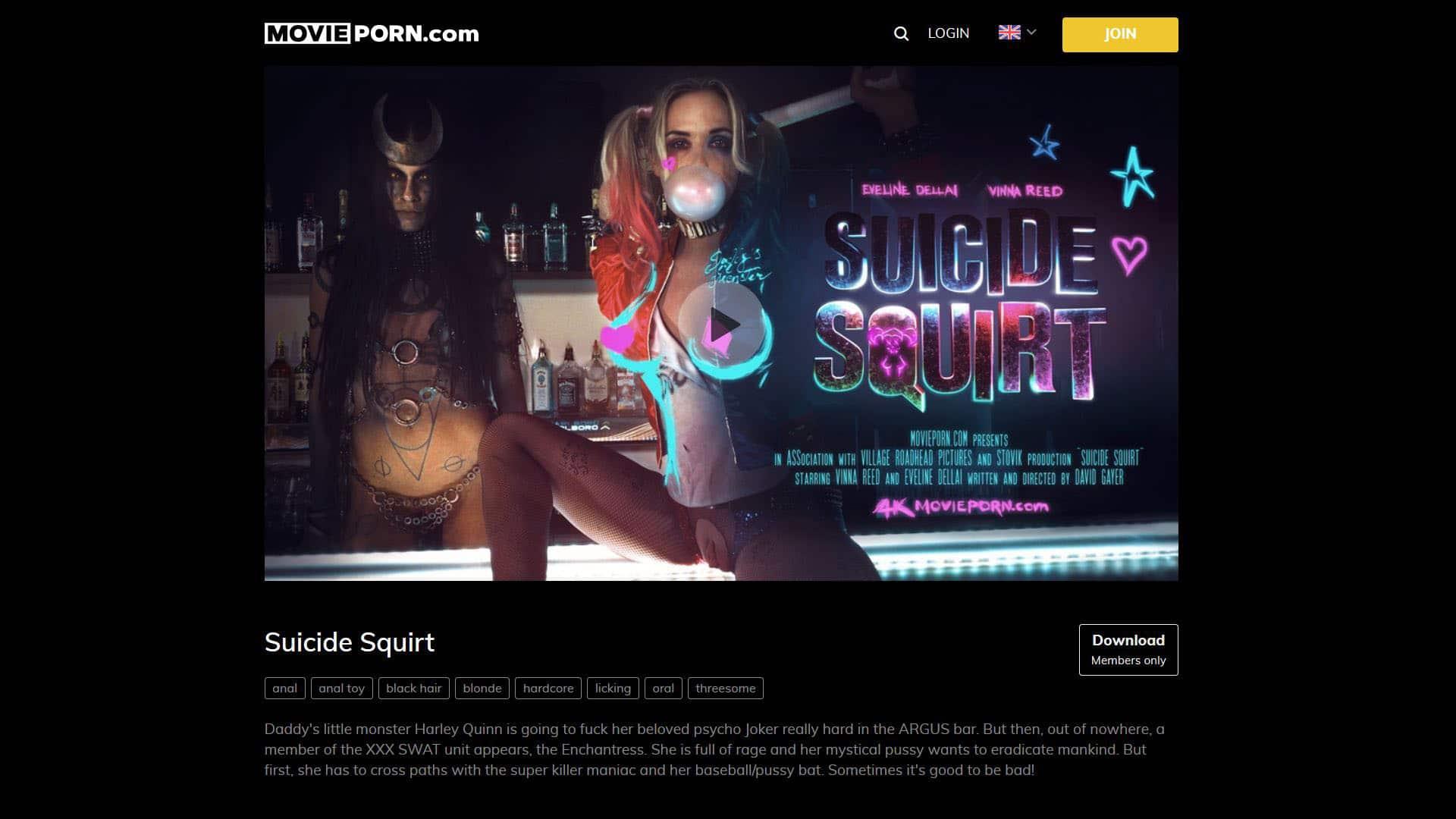 MoviePorn Suicide Squirt