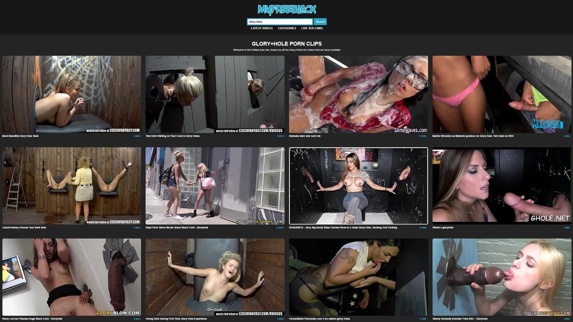 Zdarma černá porno web