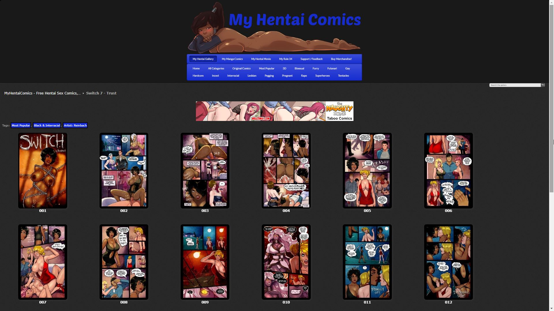 My Hentai Comics Switch 7 - Trust