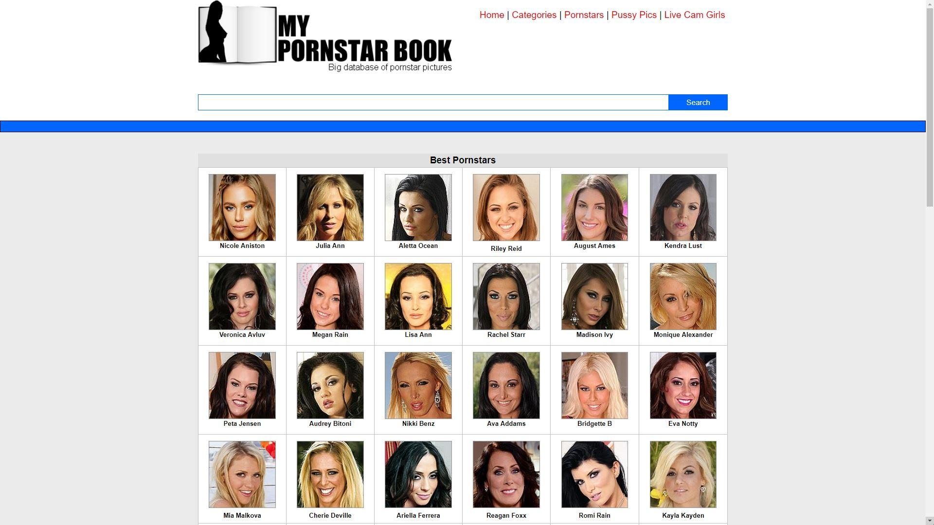 My Pornstar Book Pornstars