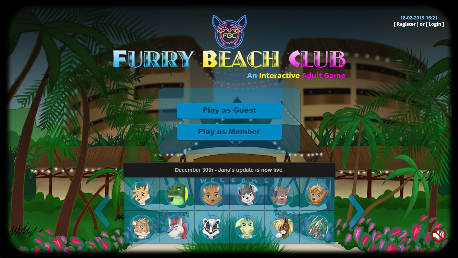 ... My Sex Games - Furry Beach Club 1 ...
