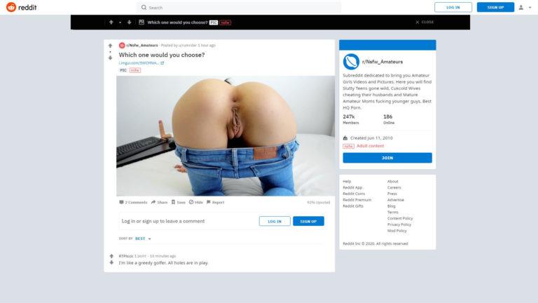 Nswf Reddit