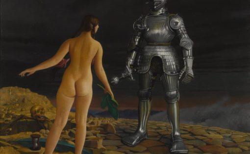 Naked Woman Vs Armored Man