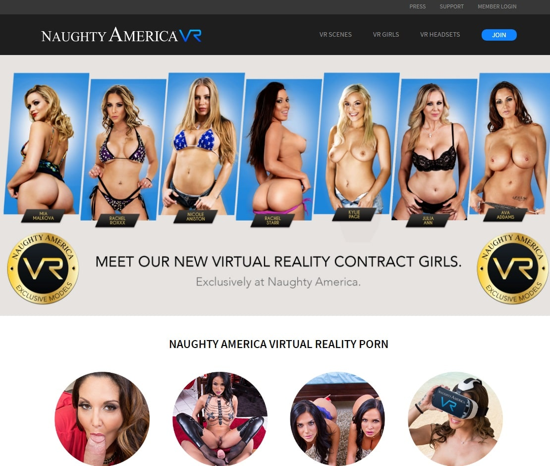 VR Porn Sites - Naughty America VR