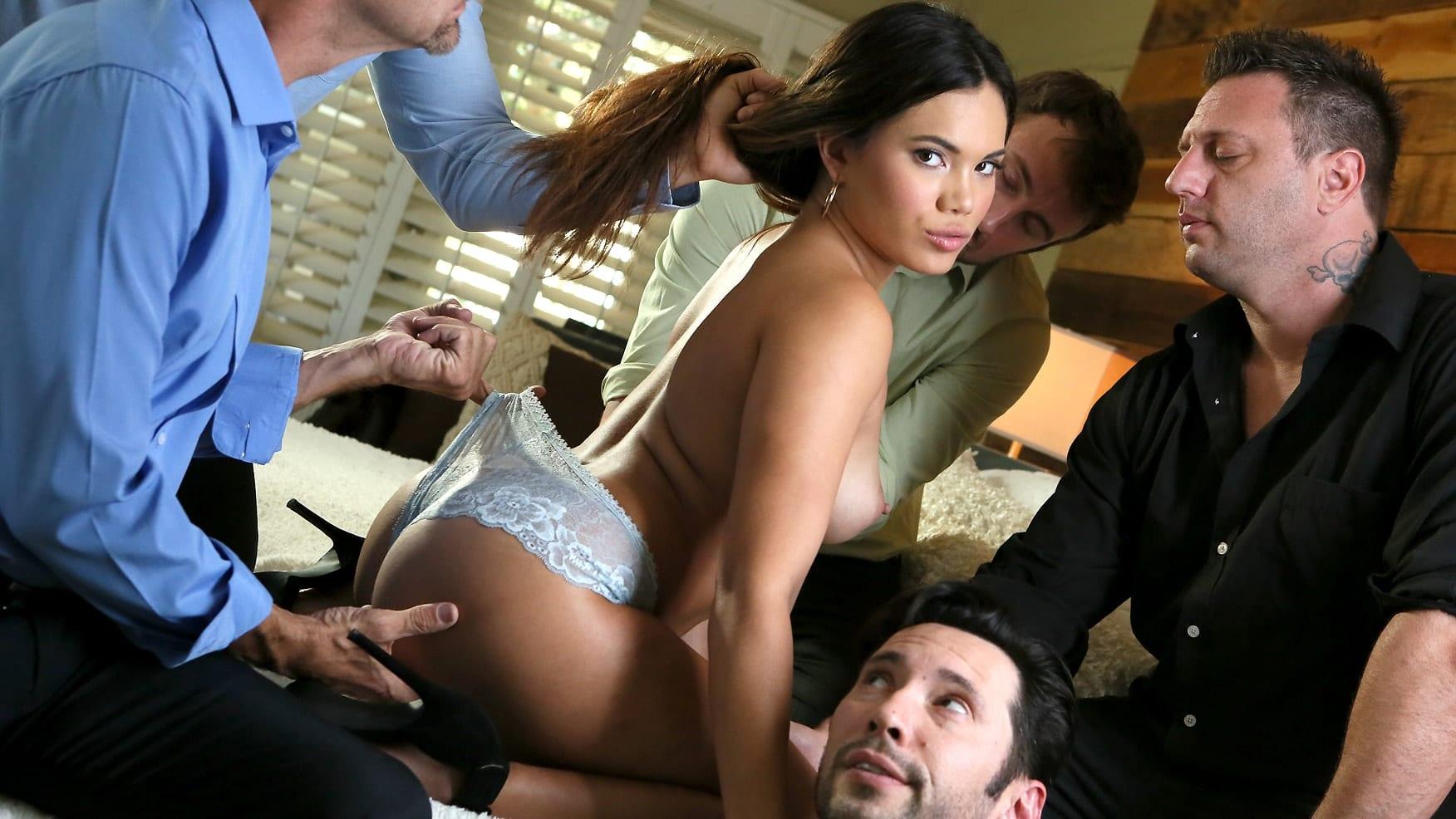 New Sensations Pornstar Gets Laid
