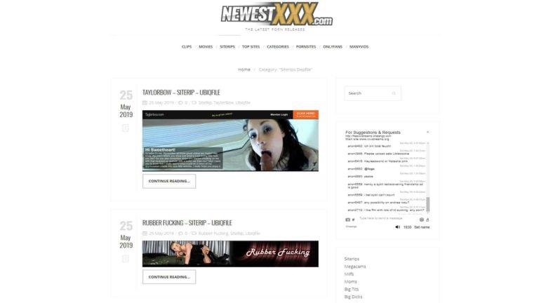 NewestXXX SiteTrips