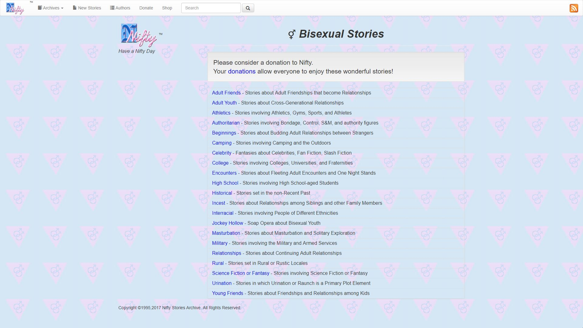 Nifty Bisexual Stories