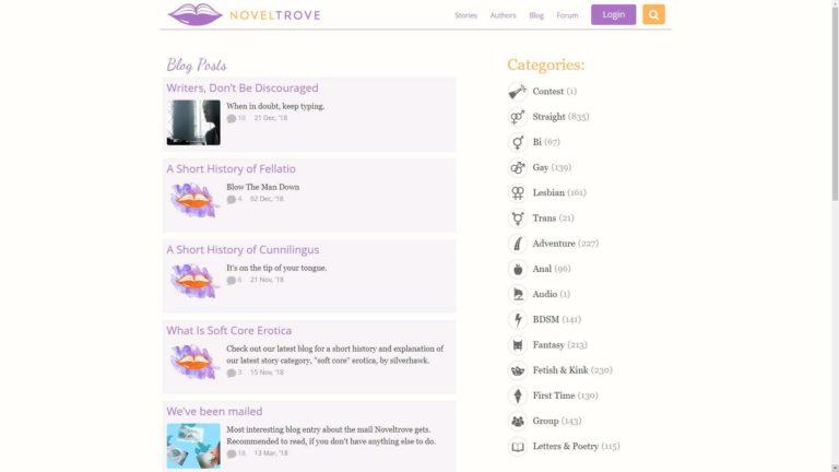 Novel Trove Blog