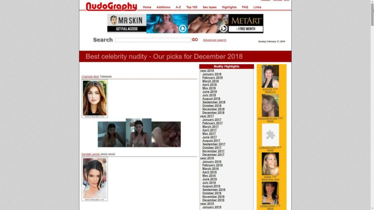 Nudography Highlights