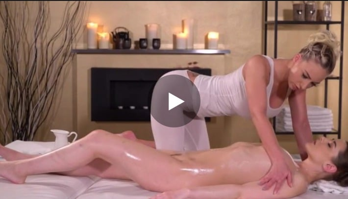 Oil Drenched Lesbian Sex
