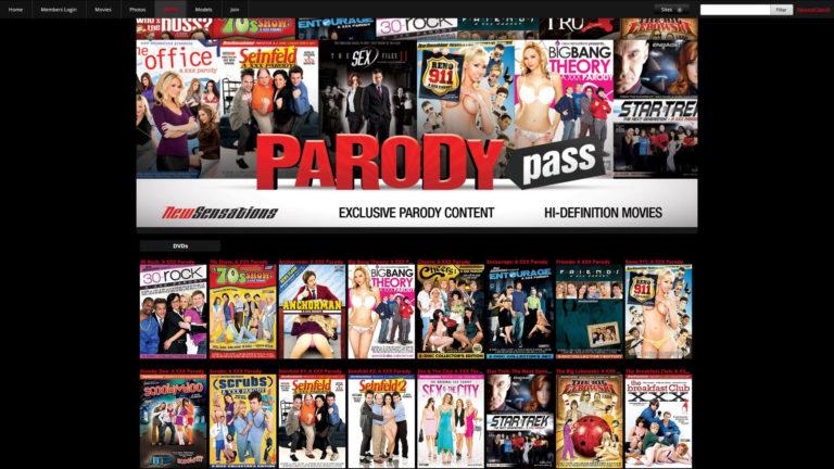 ParodyPass DVDs