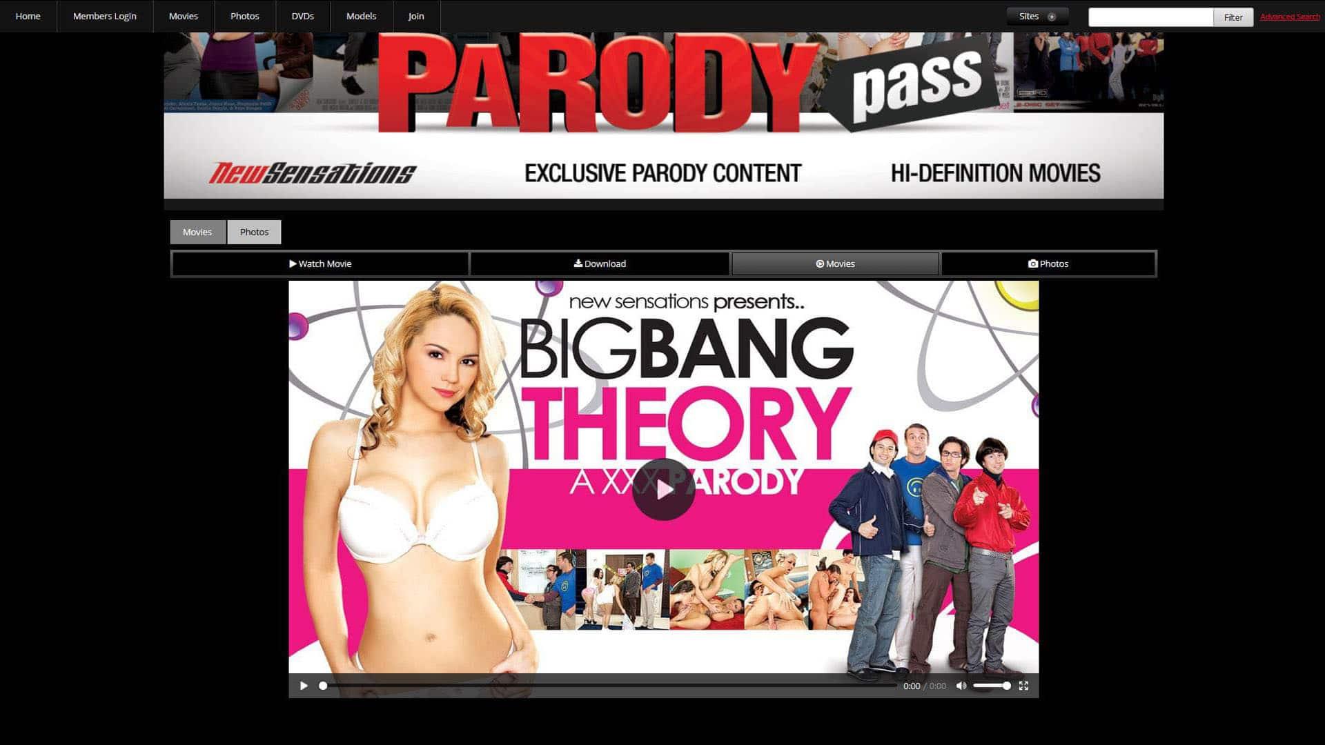 ParodyPass Big Bang Theory