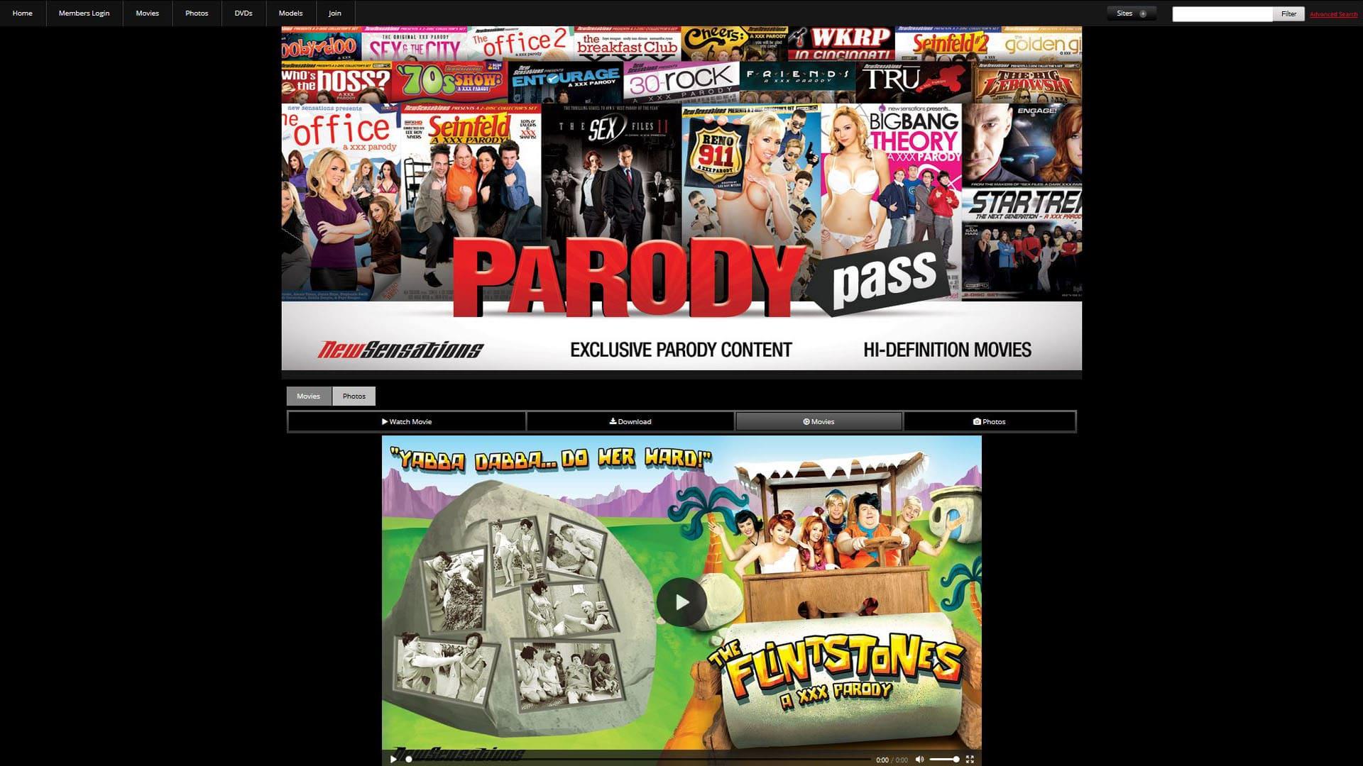 ParodyPass Flinstones