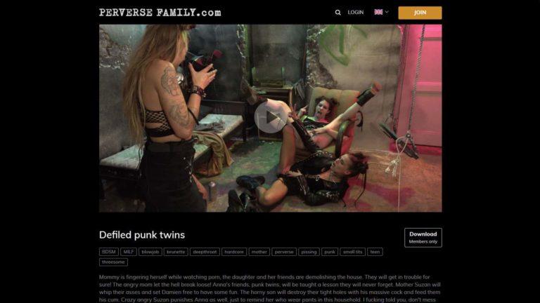 PerverseFamily Defiled Punk Twins