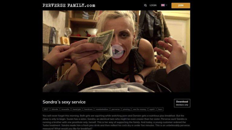 PerverseFamily Sandra's Sexy Service