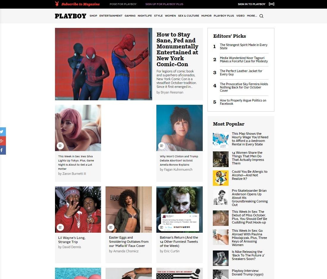 Porn Magazines - Playboy