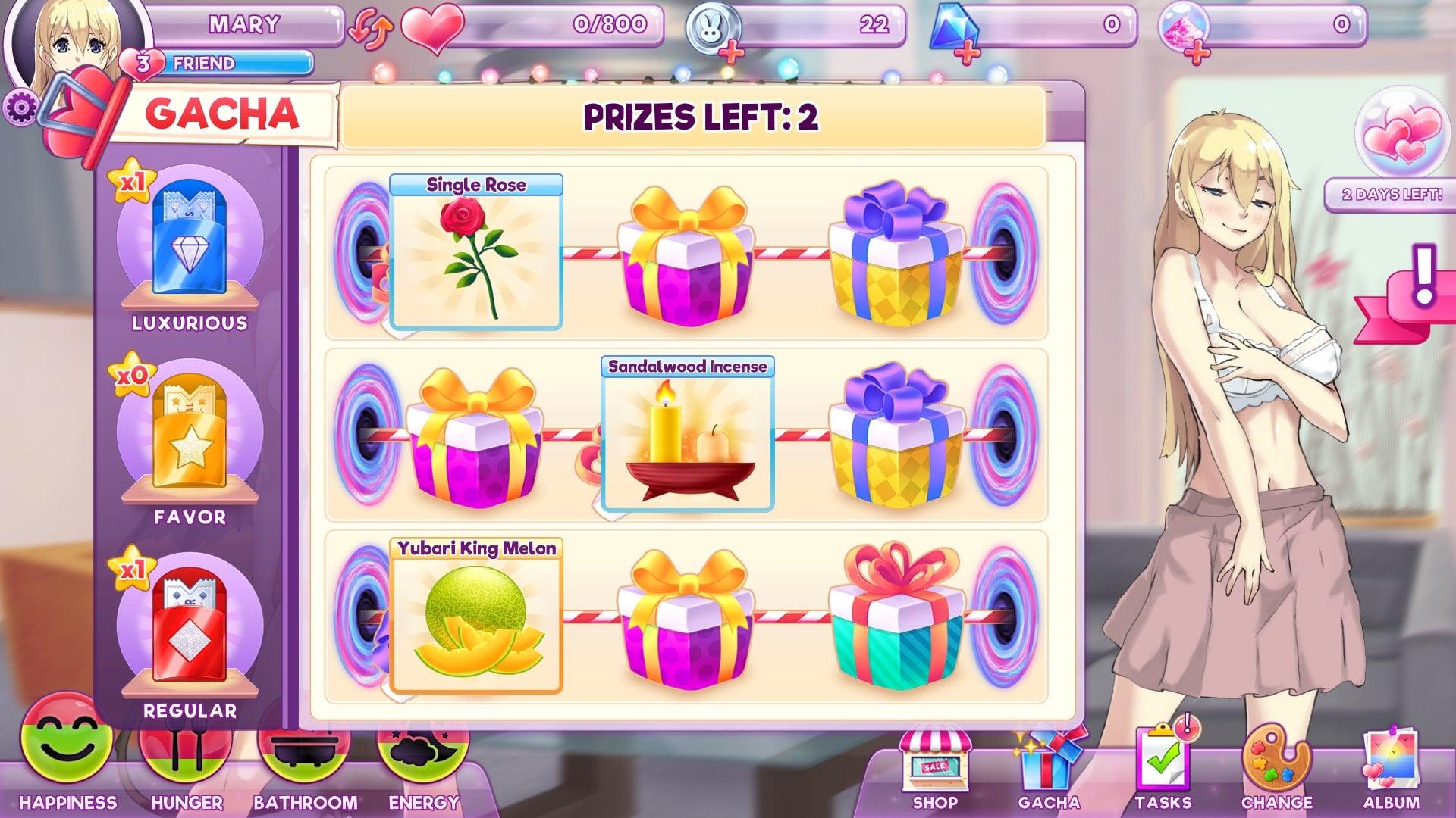 Pocket Waifu Prize Wheel