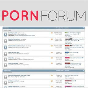 Porn Forum Sites