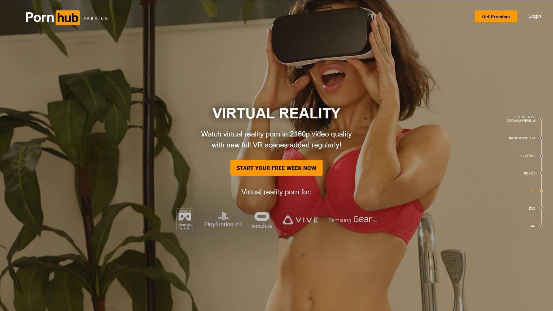 Porn Hub Premium VR