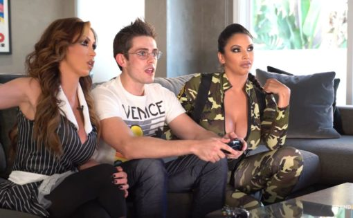 Gaming With Nikki Benz & Missy Martinez