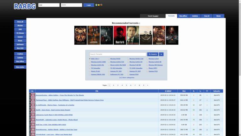 RAR BG Home Page