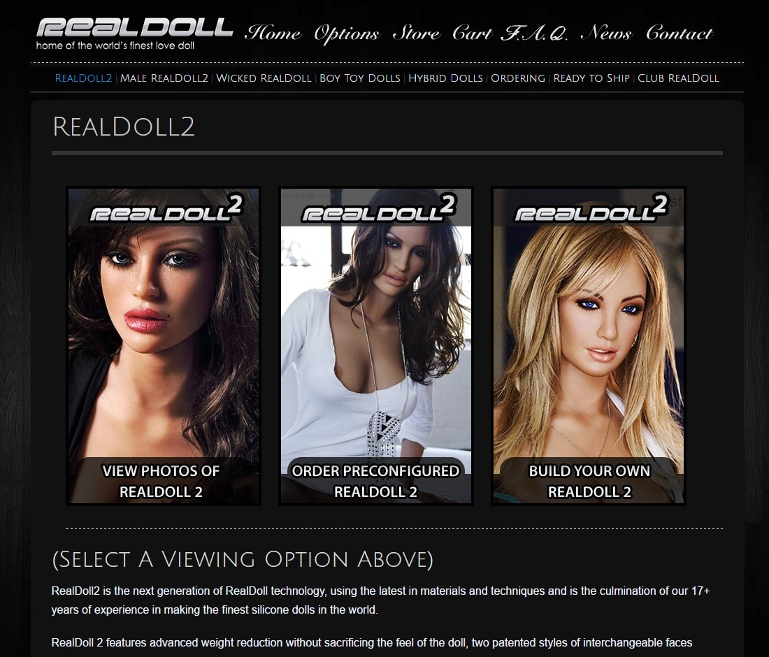Online Sex Toys Shops - Real Doll