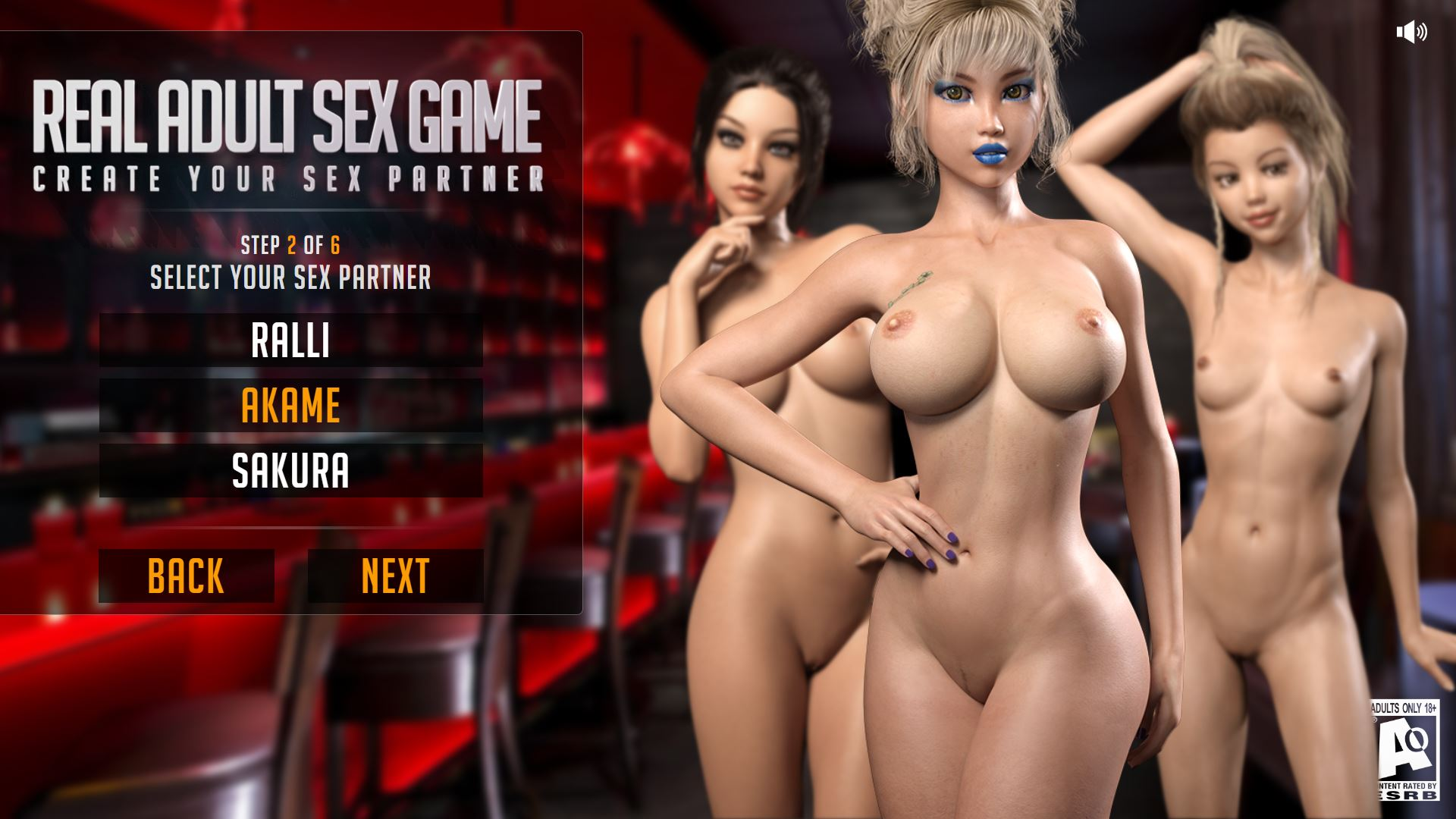 free adult games real