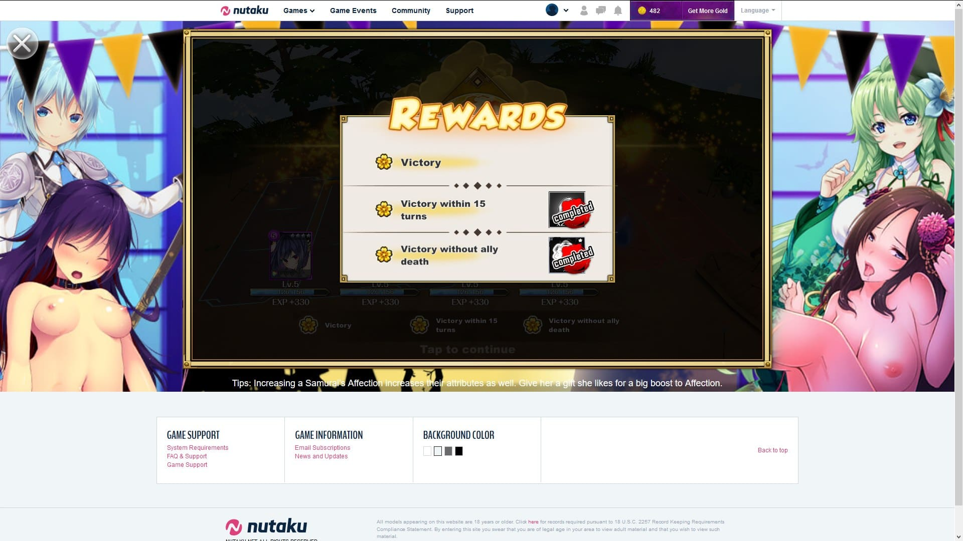 Rumblade Challenge Rewards
